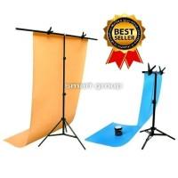 Jual PROMO !!! Paket Mini Studio Photo Stand Background 100cm Murah