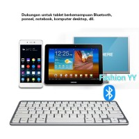 Keyboard Komputer - Keyboard Tablet - Keyboard Bluetooth - Ultrathin B