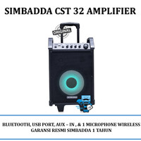 Harga simbadda trolly amplifier sound system speaker cst 32 cst32 | antitipu.com