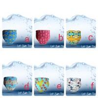 Popok Renang Bayi Size2 (12-16kg) | Clodi Swim Diaper Minikinizz