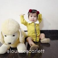 Pakaian Bayi Perempuan Baju & Sepatu Jumper Anak / Back To Sch AGB3918