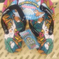 Sandal konnichiwa original jepit size xl (size 35)