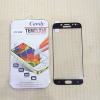 Candy Antigores tempered glass Full samsung seri J