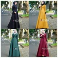 Harga pakaian wanita blouse murah gamis murah alma dress dress fashion | antitipu.com