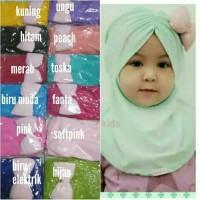 jilbab bayi pita pinggir - kerudung bayi dan anak - hijab bayi- khimar