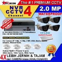 Harga paket cctv untuk ruko 4 ip cam 2 mp | Pembandingharga.com