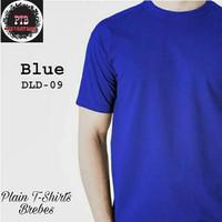 Kaos Polos biru Benhur