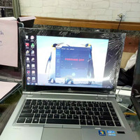 Laptop hp elitebook 8470p core i5 ram 4gb hdd 320gb mulus mantap