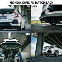 Knalpot HKS LEGAL Civic FD1/FD2 18cc/20cc