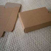 GIFT BOX/KOTAK PACKING/KOTAK SOUVENIR SEDANG BAHAN BROWNKRAFT 280 gr