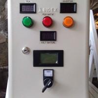 Panel Kontrol ATS PLN Inverter dgn Timer dan Voltage Comparator