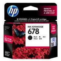 Tinta Hp 678 Black Original, Dealer Resmi HP 678 Black U/ Printer 1515