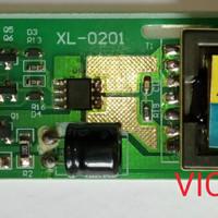 Inverter Board LCD Monitor China 15 inch - 2 lampu - soket kecil