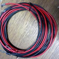 Kabel aki solar cell 2.5mm x2, 5 meter