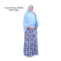 Gamis Dewasa Hai Hai GM 23 Biru Pink