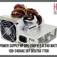 POWER SUPPLY HP DPS-240FB-2 A 240 WATT 100-240VAC SFF DC5750 7700
