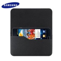Original Samsung Universal Leather Pouch Case for Galaxy W, Y Duos etc