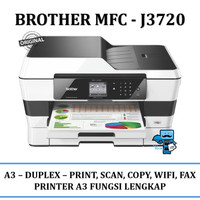 Printer Brother A3 wireles MFC-J3720 (incl tabung kosong dan tinta)