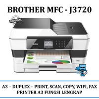 Printer Brother A3 wireles MFC-J3720 (incl tabung kosong dan tinta)
