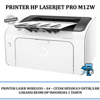 Printer HP M12W Laserjet Pro (T0L46A) - Wireless Laser Printer