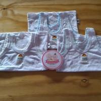 Kaos Dalam Bayi Newborn Polos Putih Uk S Kaos dalam halus