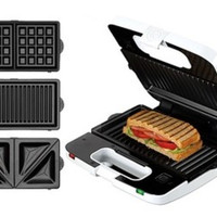 KENWOOD SM650 Multisnack Sandwich Maker - Putih