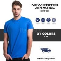 KAOS Polos New States Apparel Soft Tee 3600 (COLOR, SIZE XXL )