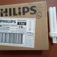Lampu Philips Master PL-C PLC 2P Ecotone 13watt 13w Warm White Kuning