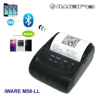 MINI THERMAL PRINTER BLUETOOTH IWARE M58-LL ( KUAT & BANDEL )
