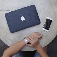 Jakarta Mac Macbook Air 13 inch Kulit Leather skin Hard Case Cover
