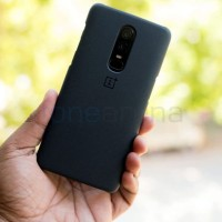 OnePlus 6 Nylon Case Casing Original Sarung Hardcase Leather
