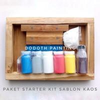 Paket Pemula / Starter Kit Sablon Kaos