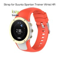 Strap for Suunto Spartan Trainer Wrist HR - Tali jam ORANGE