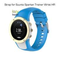 Strap for Suunto Spartan Trainer Wrist HR - Tali jam AQUA BLUE