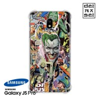 Comic Joker Casing Samsung Galaxy J5 Pro Anti Crack Anticrack Case HP