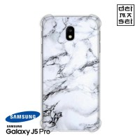 Marble White Casing Samsung Galaxy J5 Pro Anti Crack Anticrack Case HP