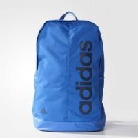 Tas Backpack Adidas Linear Performance Blue Azul Original Ransel