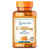 Puritan Vitamin C-1000 mg with Bioflavonoids & Rose Hips 100pcs Ready