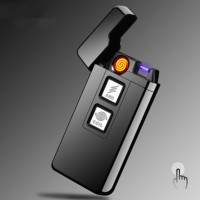 Arc Coil Touch Induction Windproof Plasma USB Rechargable Lighter