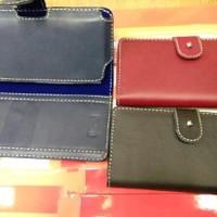 Vivo V9 Case Dompet Kulit Sarung HP Smartphone dari Kulit Orig Diskon