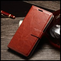 CASE / CASING HP WALLET LEATHER SONY XPERIA M4 M4 AQUA