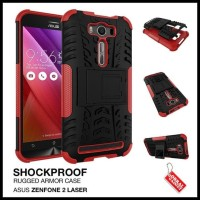 CASE / CASING HP ASUS ZENFONE 2 LASER RUGGED SHOCKPROOF ARMOR HYBRID