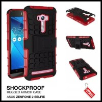 CASE / CASING HP ASUS ZENFONE 2 SELFIE RUGGED SHOCKPROOF ARMOR HYBRID