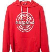 Harga jaket sweater zipper hoodie pull bear   Pembandingharga.com