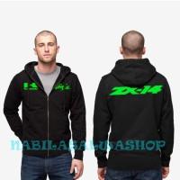 Harga jaket sweater zipper hoodie kawasaki ninja   Pembandingharga.com