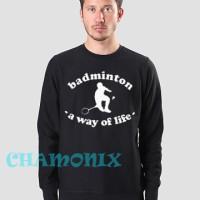 Harga jaket sweater zipper hoodie badminton   Pembandingharga.com
