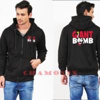 Harga jaket sweater zipper hoodie giant boom   Pembandingharga.com