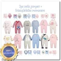 Harga katalog 2018 mom s care 2pcs sets jumper triang lebibs size 6m | Pembandingharga.com