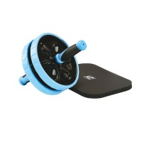 LP SUPPORT AB WHEEL WITH NBR KNEE MAT/RODA EXERCISE/LATIHAN/ROLLER