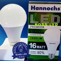 Lampu LED Hannochs Premier 16 Watt / 16W - Hemat Listrik (Bergaransi)